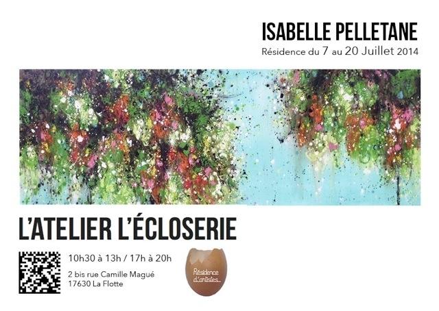 "Artist Residency & Solo Exhibition, ""L'Ecloserie"" – LA FLOTTE (FR)"