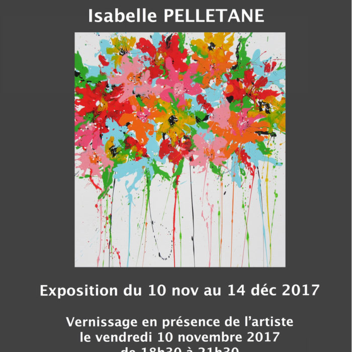 Solo exhibition, Concept Store Arts2be gallery – WAVRE (Belgium)