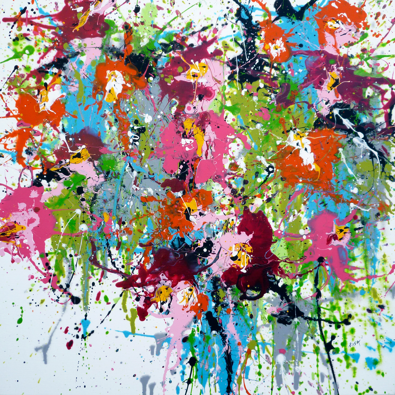 Phytal 80×80 cm – SOLD
