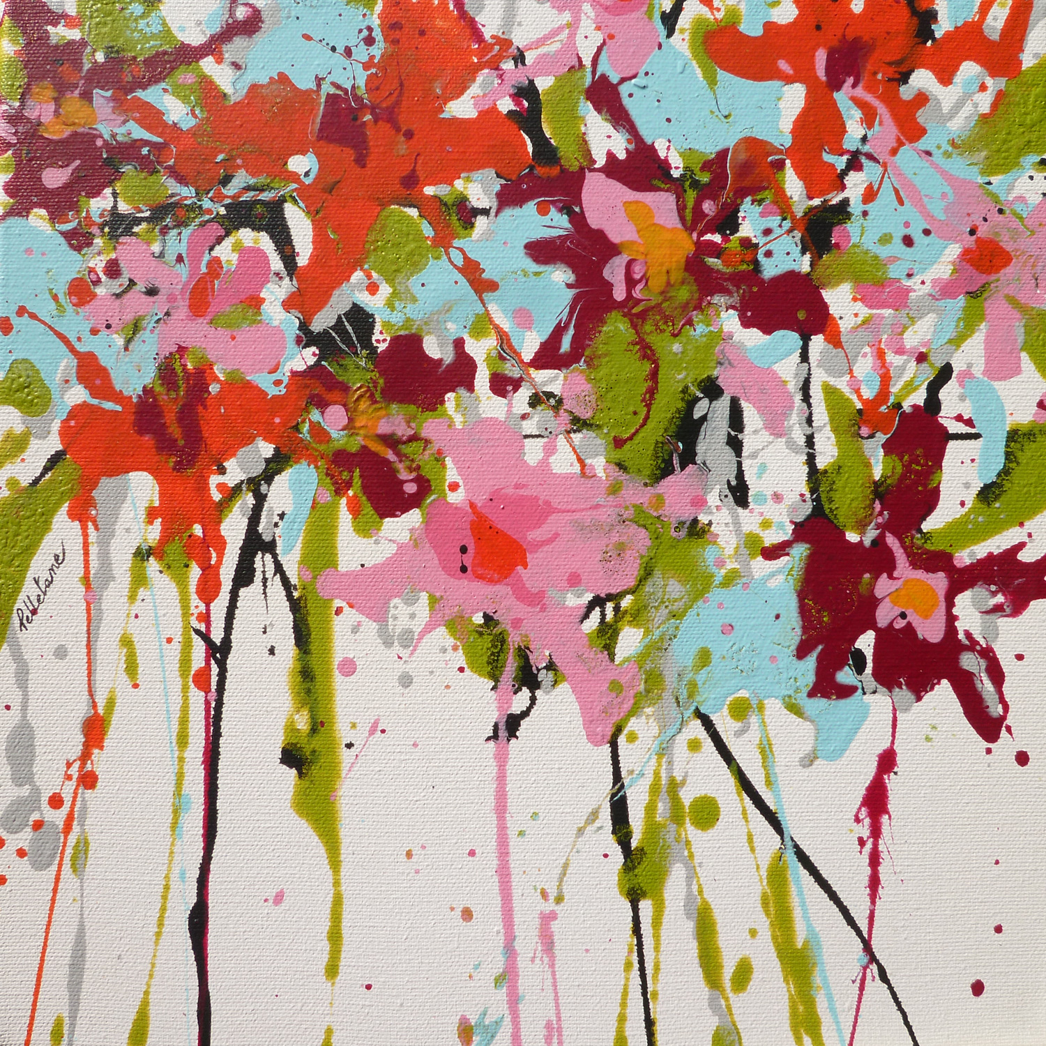 "In the Saatchi Art COLLECTION : ""Inspired by Cy Twombly"" (USA)"