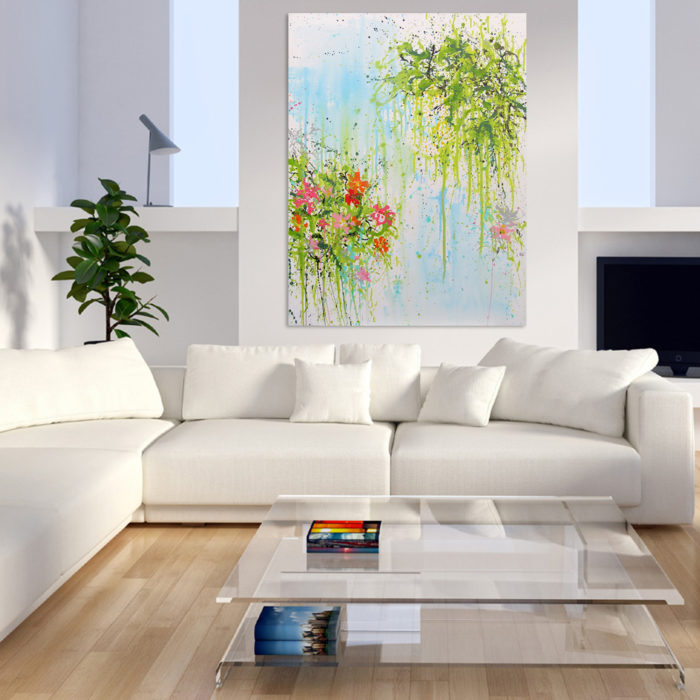"""In the Saatchi Art COLLECTION : """"Pantone of the year 2017, Greenery"""" (USA)"""
