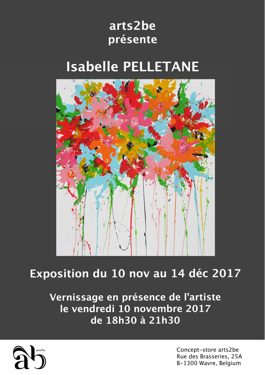 Solo exhibition, Arts2be Gallery – WAVRE (BE)