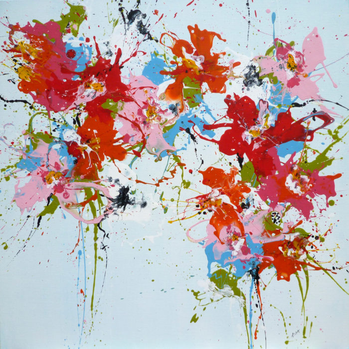 "In the Siott Gallery Blog : ""February Calls for Colorful Isabelle Pelletane Paintings."" (UK)"