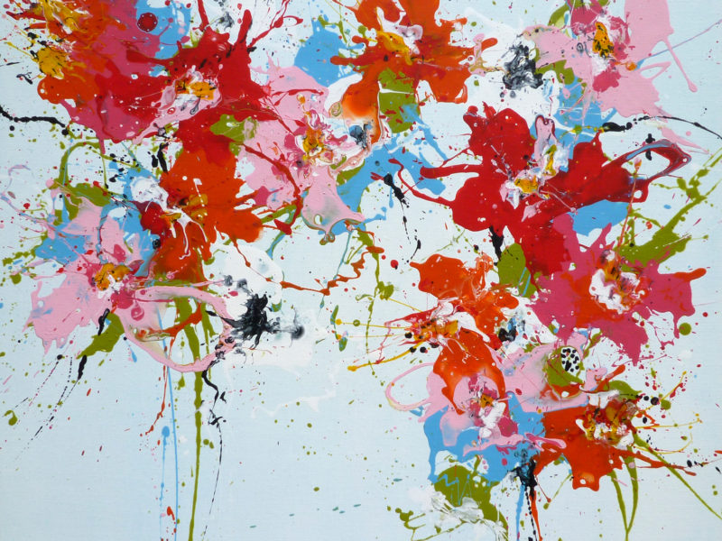 """In the Siott Gallery Blog : """"February Calls for Colorful Isabelle Pelletane Paintings."""" (UK)"""
