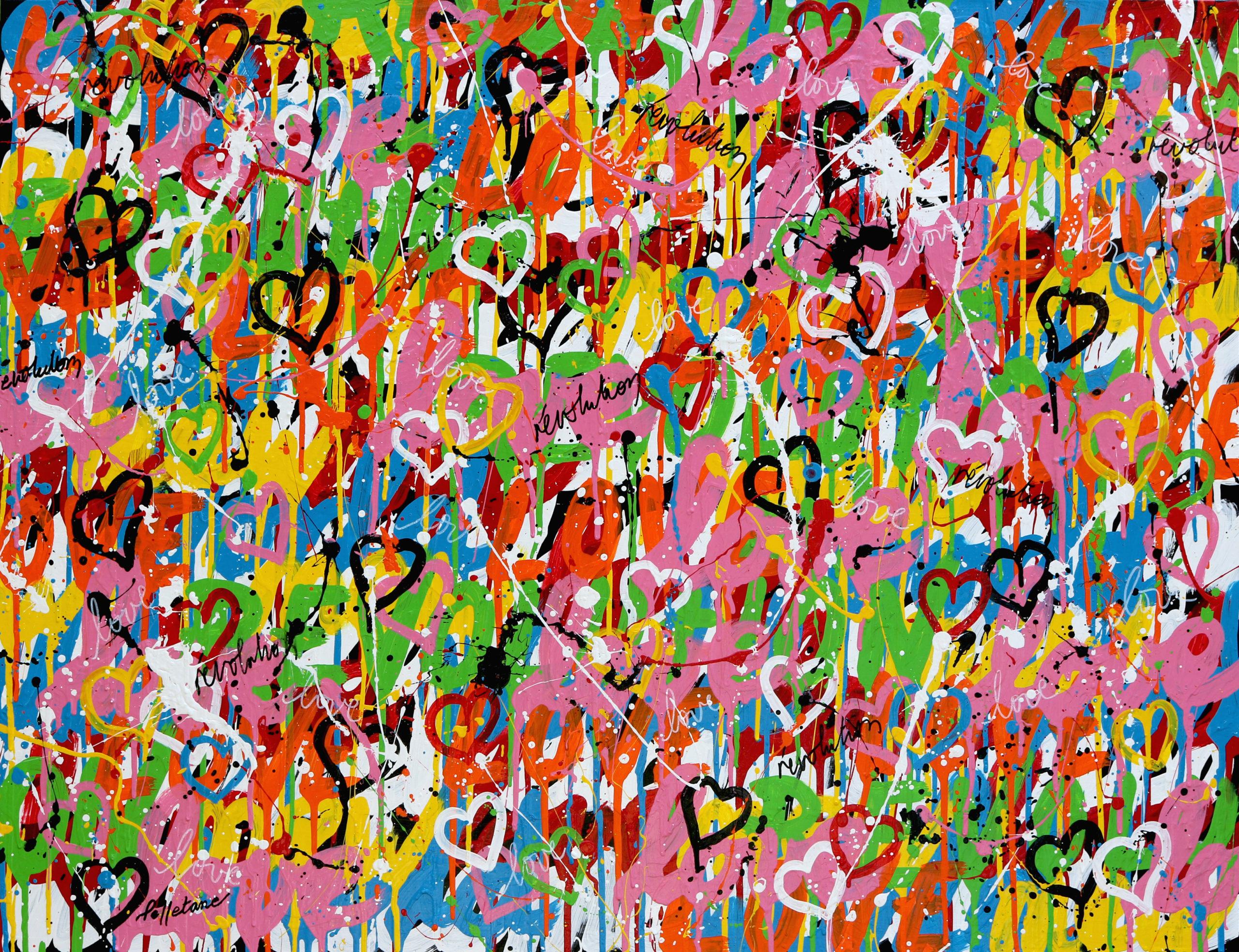 Love Revolution 89×116 cm