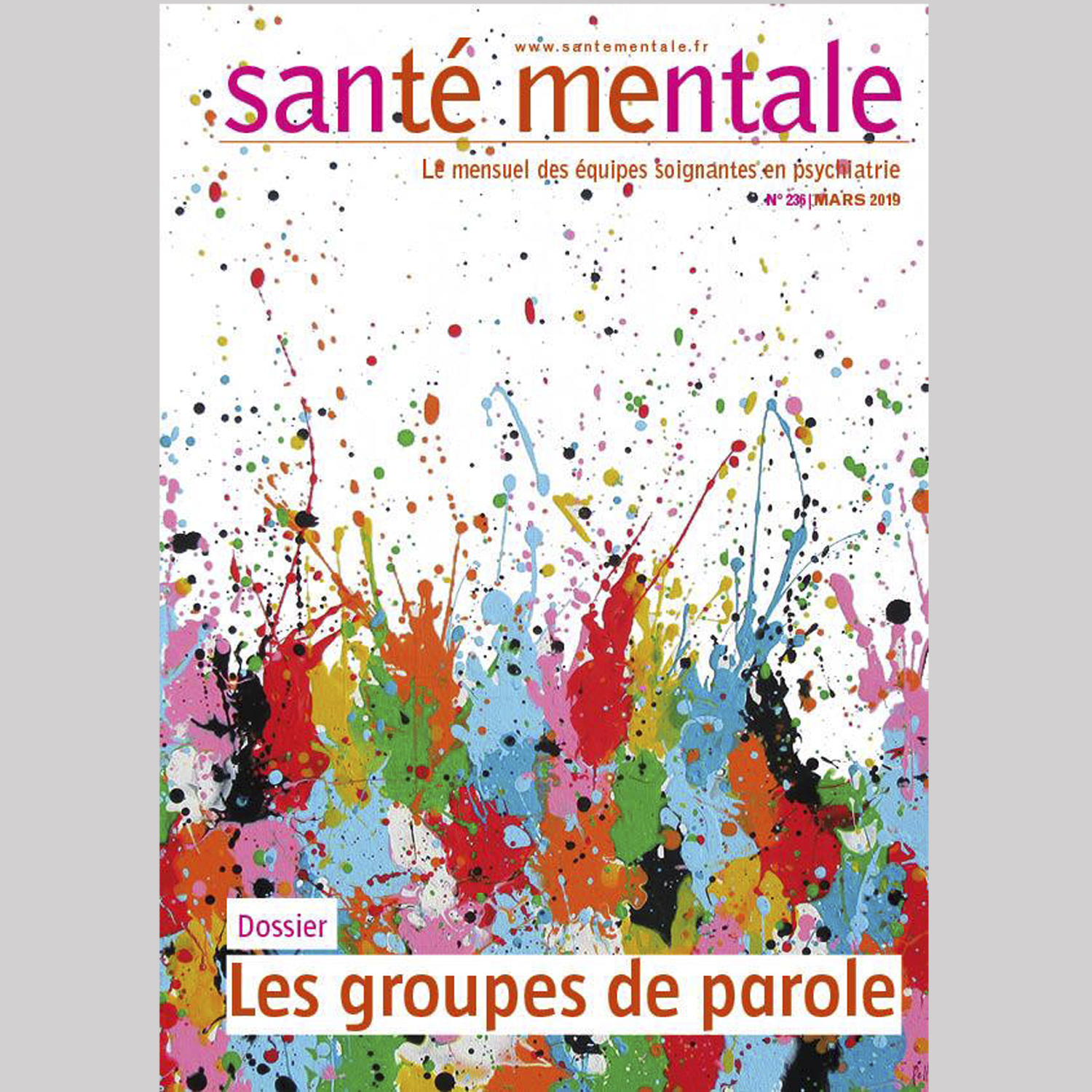"Artist of the month : ""Santé Mentale"" press"