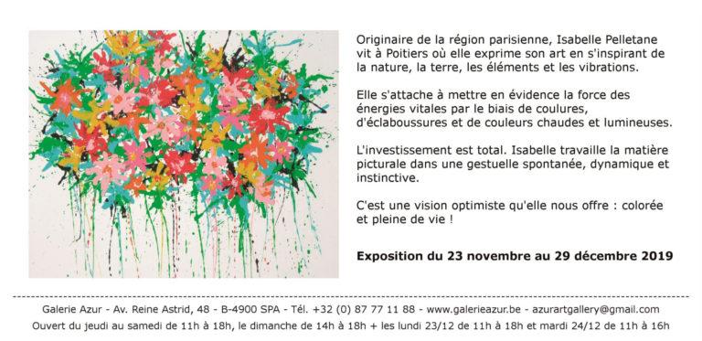 Invitation Pelletane2 - Galerie Azur-2019