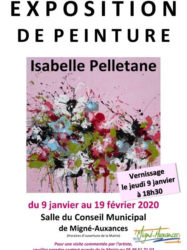 """Exhibition solo, """"Couleurs nature"""" 2020 – MIGNE AUXANCES (FR)"""