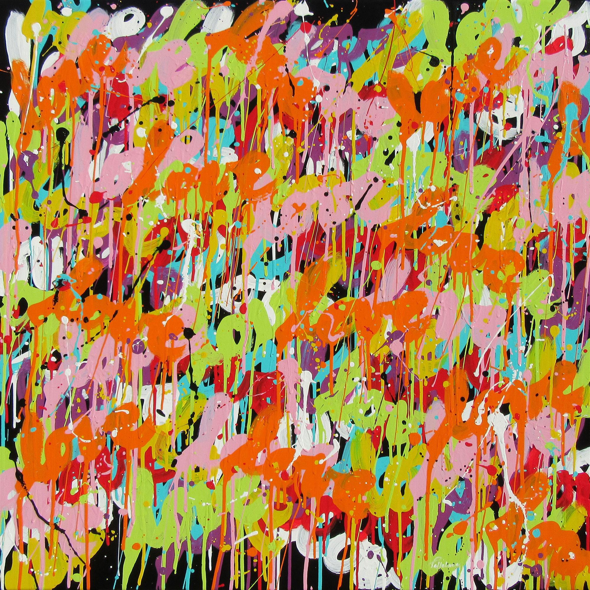 Colorfullove 100×100 cm