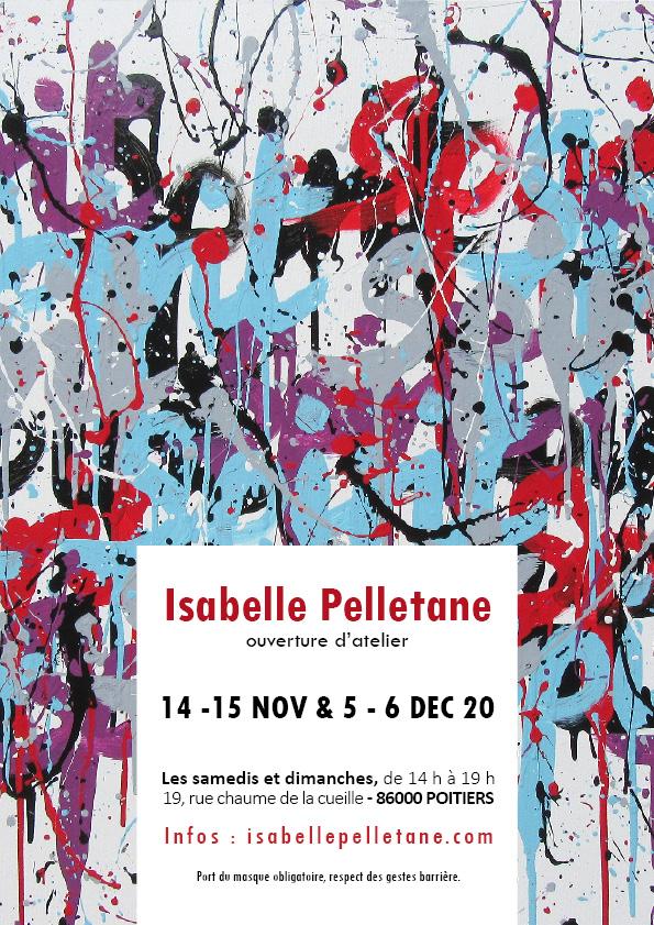 """Exhibition, """"Ouverture d'Atelier"""" 2020 – POITIERS (FR)"""