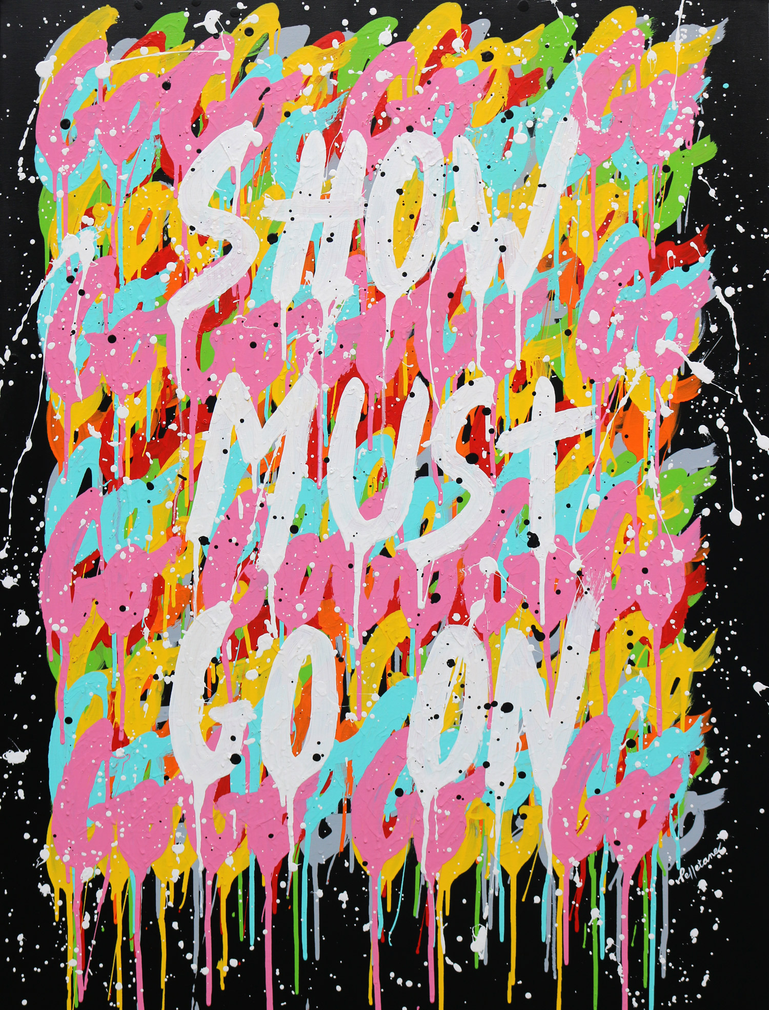 Show Must Go On 130 x 97 cm