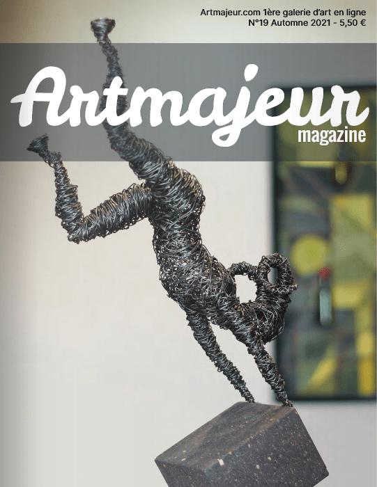 """Artmajeur Magazine N°19 : """"Portrait d'artiste"""" – press"""